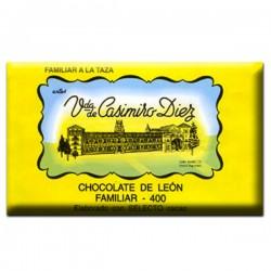 Chocolate a la taza tableta 400gr. | Viuda de Casimiro Diez Dulces