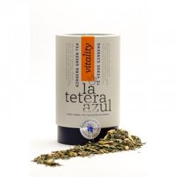 Té Verde Ginseng Limón | La Tetera Azul Bote
