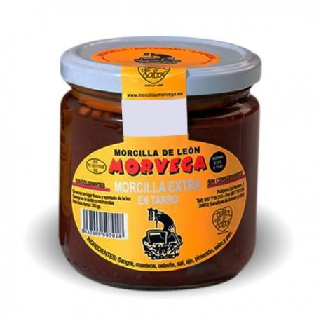Morcilla de León de untar sin queso | Morvega  300gr.