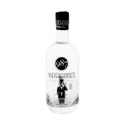987 LONDON DRY GIN Premium 5 distillations.