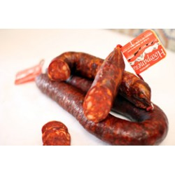 Chorizo de León Extra de vaca. Dulce. Hompanera