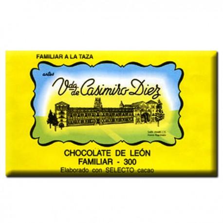 Chocolate a la taza tableta 300gr.   Viuda de Casimiro Diez Dulces